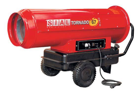Теплова пушка SIAL tornado 67 прямого нагріву