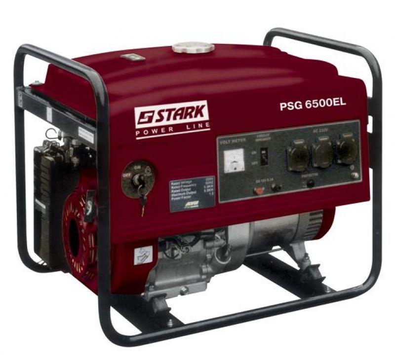 Електростанція STARK PSG 6500 EL