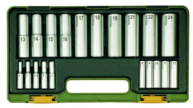 PROXXON №23292 Набор из 20 удлиненных торцевых головок